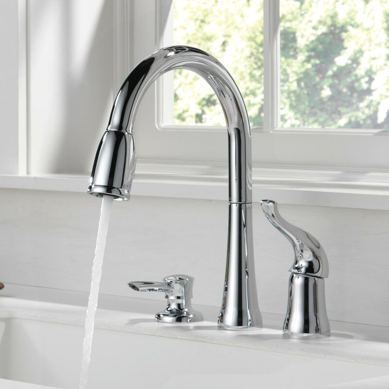 Charmant Kate Pull Down Single Handle Kitchen Faucet With Diamond Seal Technology  And MagnaTite® Docking