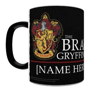 Harry Potter Gryffindor Robe Personalized Heat Sensitive Coffee Mug