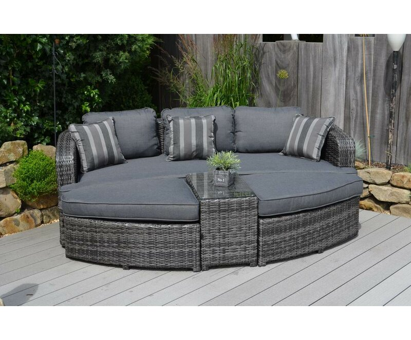 4-piece Daytona Daybed Patio Seating Group