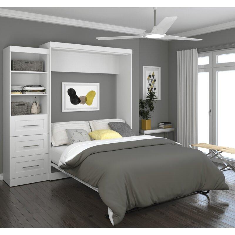 Brayden Studio Walley Murphy Bed & Reviews
