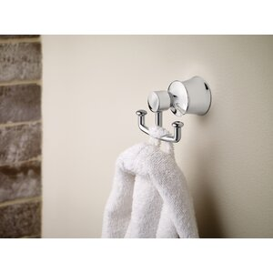 Dartmoor Double Wall Mounted Robe Hook