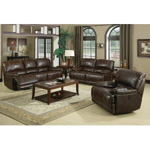 Cuenca Leather Configurable Living Room Set
