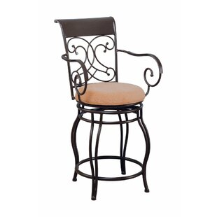 Ramseur Scroll 40 Bar Stool