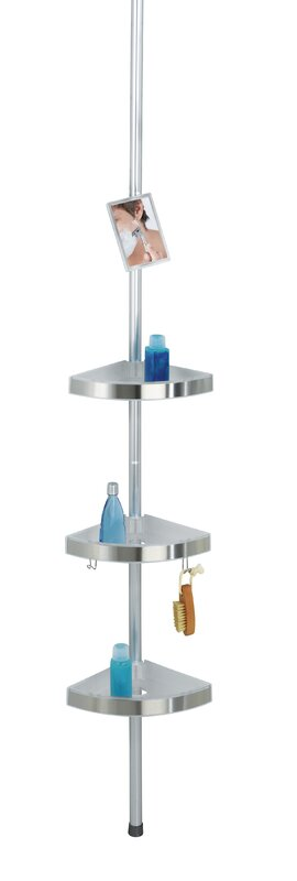 Premium Metal Wall Mounted Shower Caddy