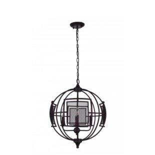 Alistaire 4 Light Globe Chandelier