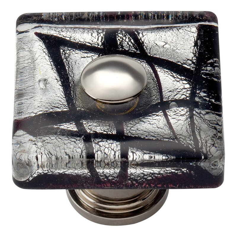 Glass Square Knob