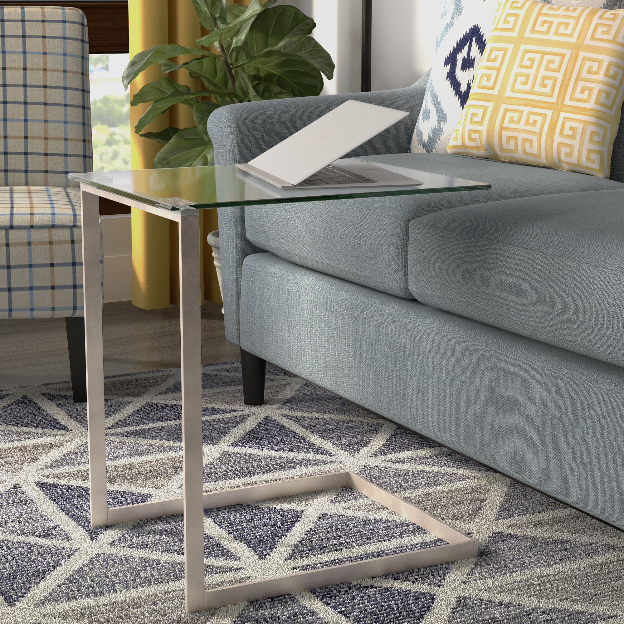 Wrought Studio Golding Modern End Table U0026 Reviews | Wayfair