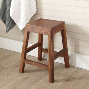 Hawkeye Point Hewett Solid Wood Decorative Stool by Alpen Home