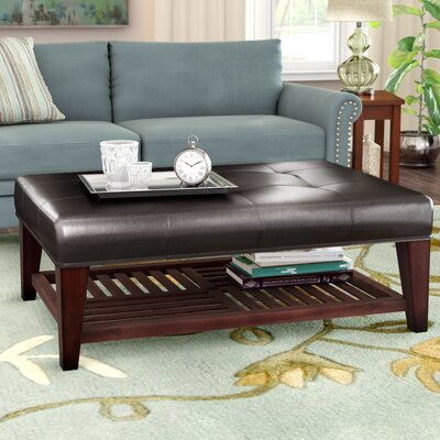 Leather Amp Faux Leather Coffee Tables You Ll Love Wayfair