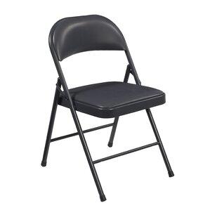 Metal Padded Folding Chairs folding chairs you'll love | wayfair