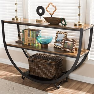 shuffler console table - Metal Console Table