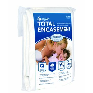 Lock-Up Total Encasement Bed Bug Pillow Protector by JT Eaton