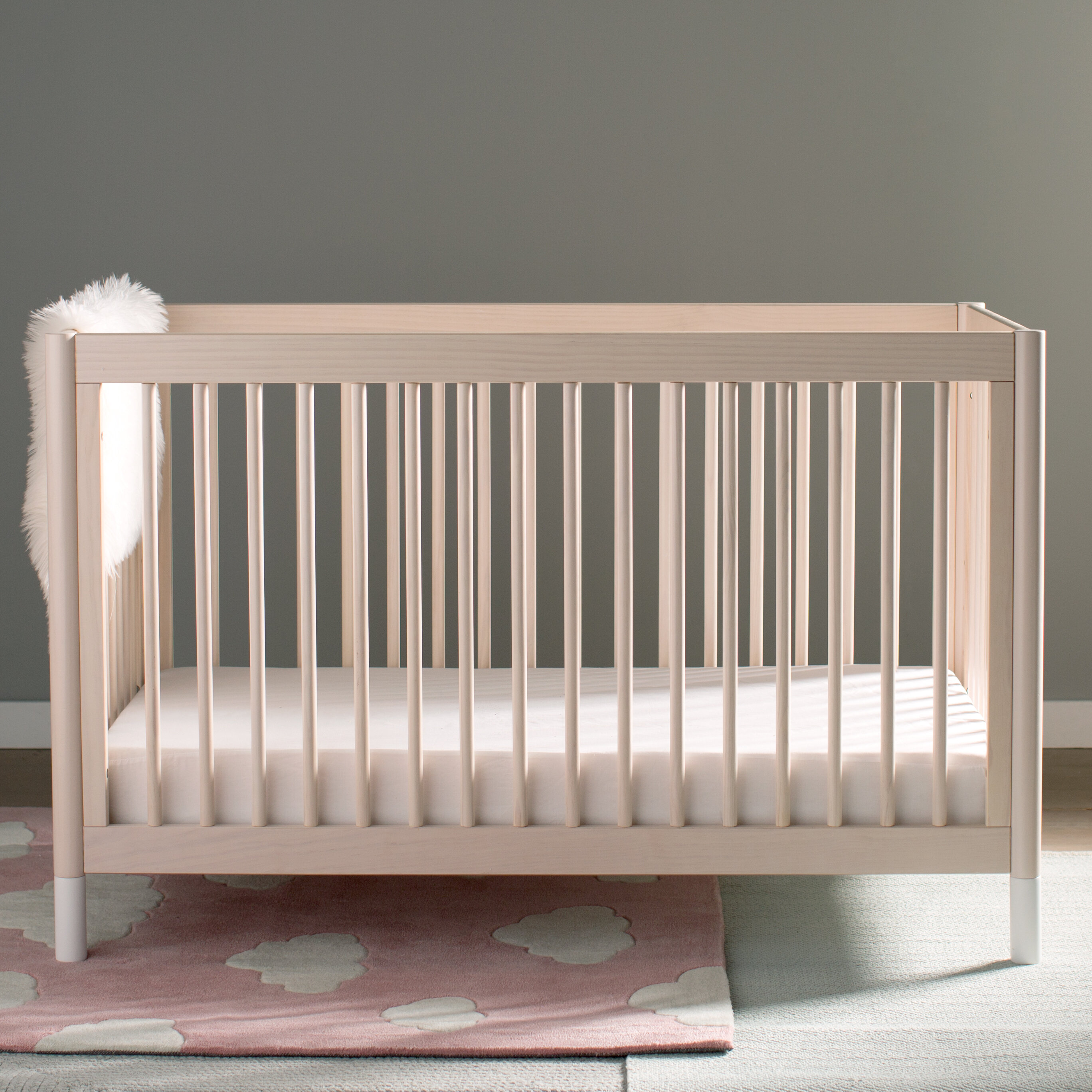 washed origami picture babyletto p natural mini wood contemporary ebay crib of