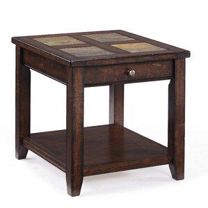 Allister End Table by Magnussen Furniture
