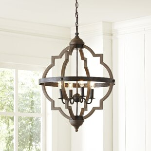 Bennington 4 Light Candle Style Chandelier