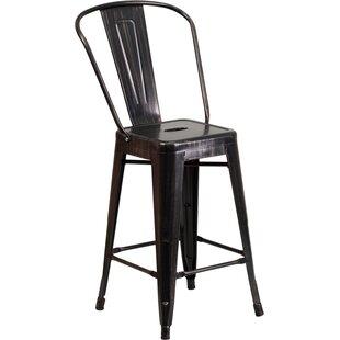gold bar stools you ll love wayfair