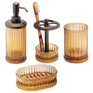 Bath Accessory Sets Youll Love - Copper coloured bathroom accessories