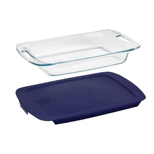 Pyrex Easy Grab 3 Qt. Oblong Baking Dish with Cover