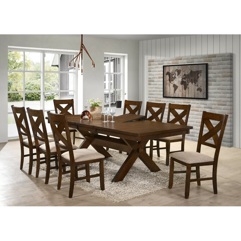 Laurel Foundry Modern Farmhouse Isabell 9 Piece Dining Set & Reviews ...