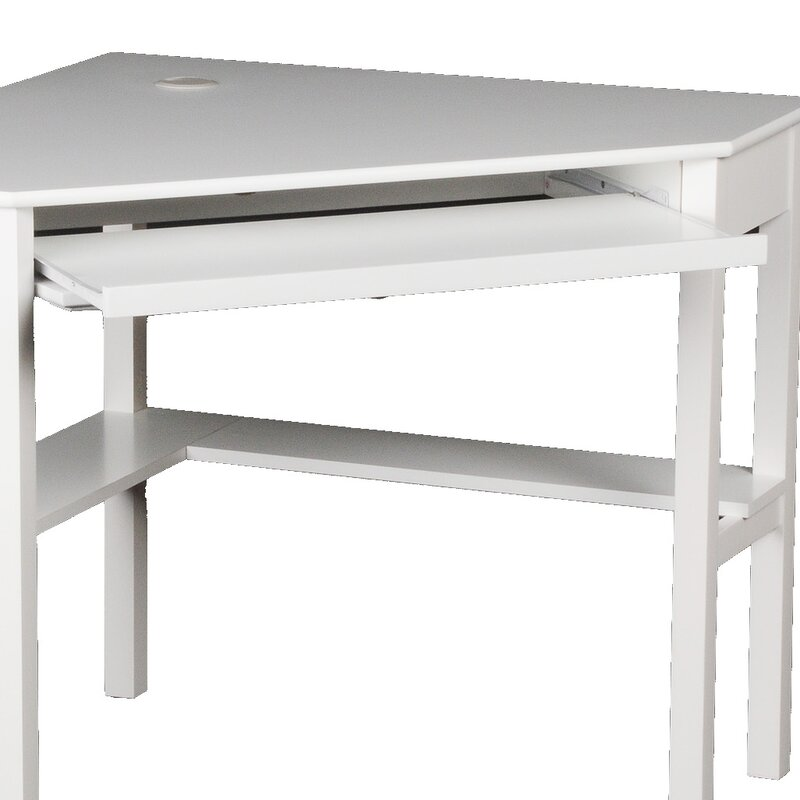 three posts computertisch branford mit tastaturauszug bewertungen. Black Bedroom Furniture Sets. Home Design Ideas