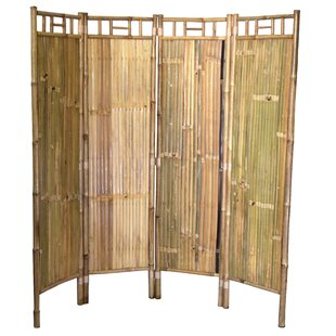 Bamboo Rattan Room Dividers Youll Love Wayfair