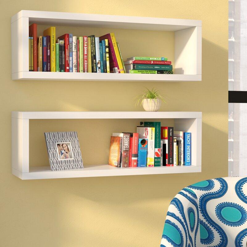 Zipcode Design Erica Rectangle Floating Shelf & Reviews   Wayfair