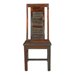 Dara Solid Wood Dining Chair by World Menagerie
