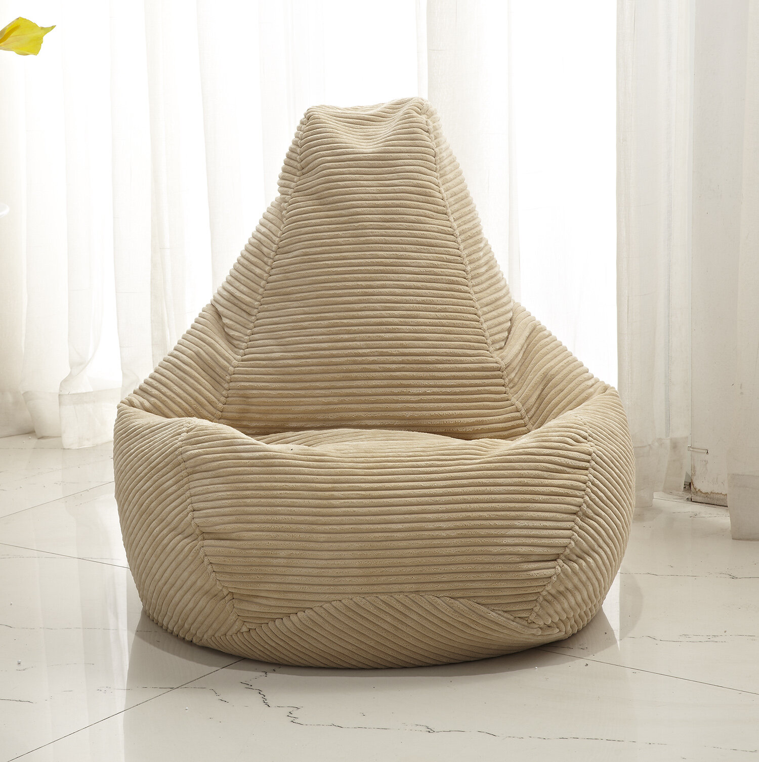 Zipcode Design Polystyrene Bean Bag Chair U0026 Reviews | Wayfair