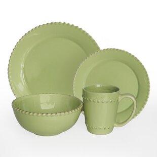 Save to Idea Board. Cream. Green  sc 1 st  Wayfair & Green Dinnerware Sets You\u0027ll Love | Wayfair