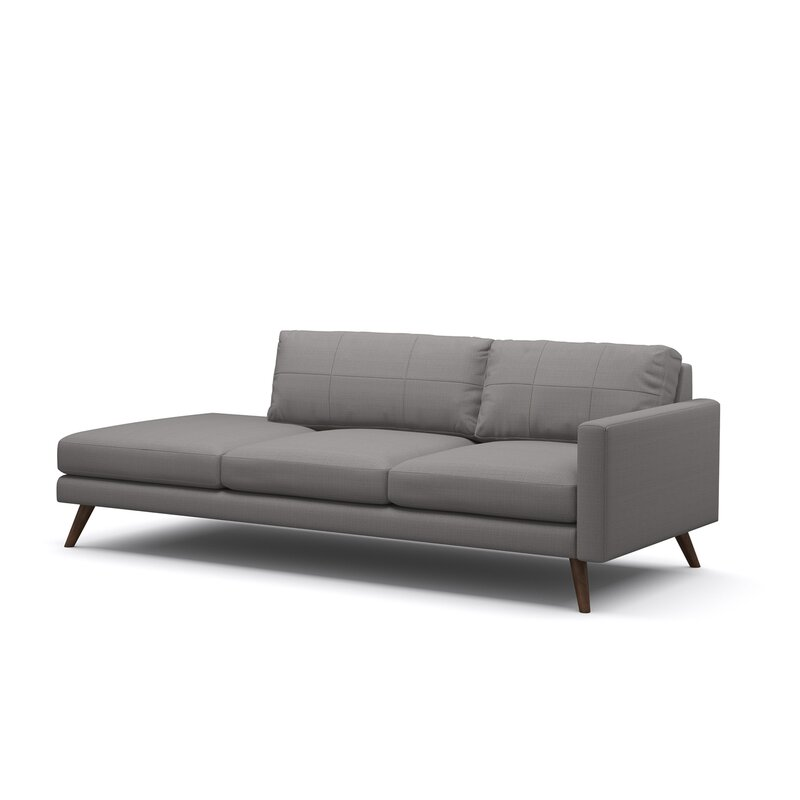 Dane One Arm Sofa With Chaise