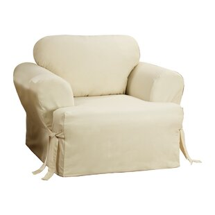 Exceptionnel Cotton Duck T Cushion Armchair Slipcover