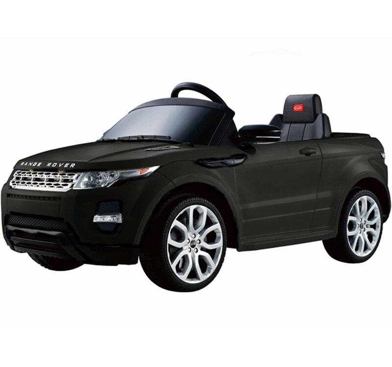 36bba0368e10 Big Toys Rastar Land Rover Evoque 12V Battery Powered Car & Reviews ...