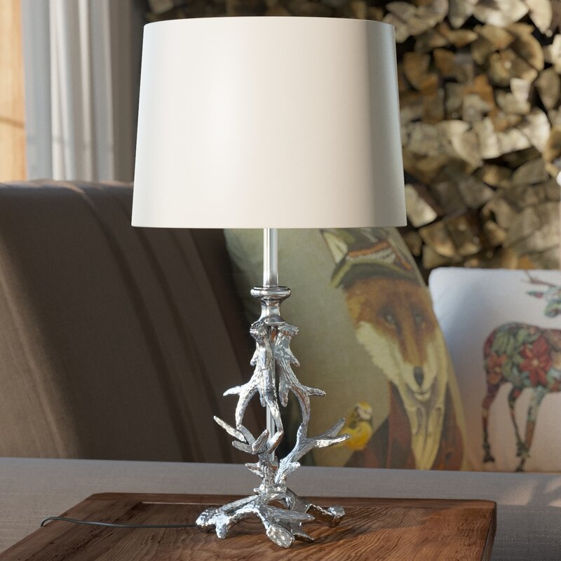 Pacific lifestyle antler 42cm table lamp base reviews wayfair antler 42cm table lamp base mozeypictures Image collections