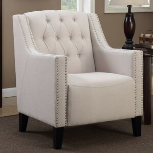 Isabella Tufted Armchair by Alcott Hill