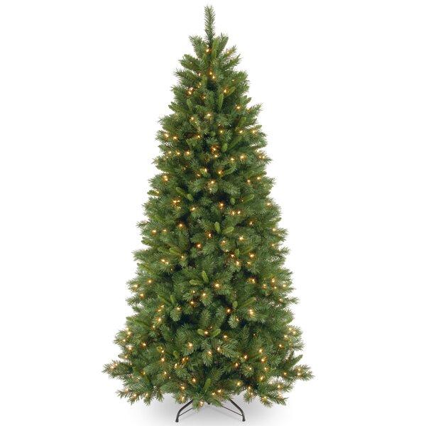 National Tree Co Lehigh Valley Pine 7 5 Green Slim