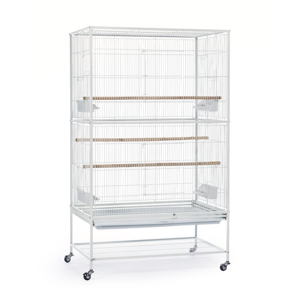 Prevue Hendryx Flight Bird Cage With Storage Shelf U0026 Reviews | Wayfair