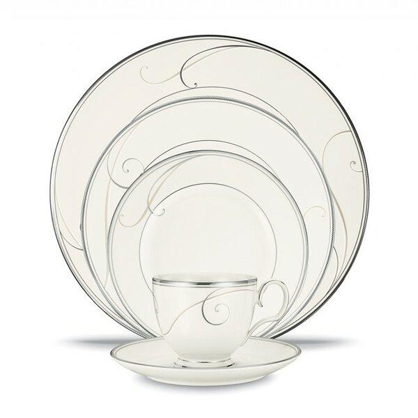 sc 1 st  Wayfair & Noritake Platinum Wave 20 Piece Dinnerware Set Service for 4 | Wayfair