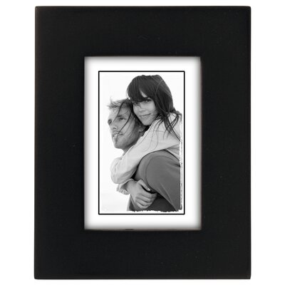 Andover Mills Ben Linear Picture Frame Color: Black, Size: 2 x 3