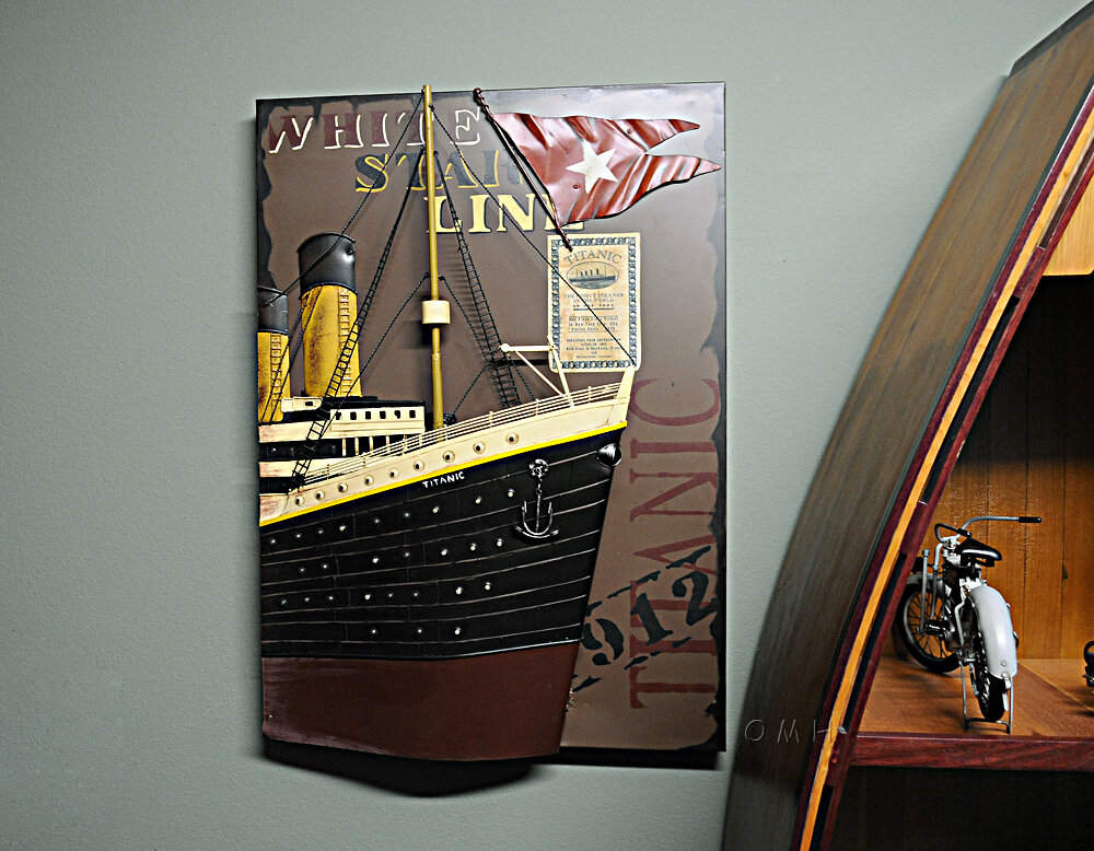Old Modern Handicrafts Titanic Front Bow 3D Painting Wall Décor ...
