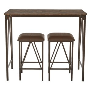 Catalina 3 Piece Dining Set by OSP Designs