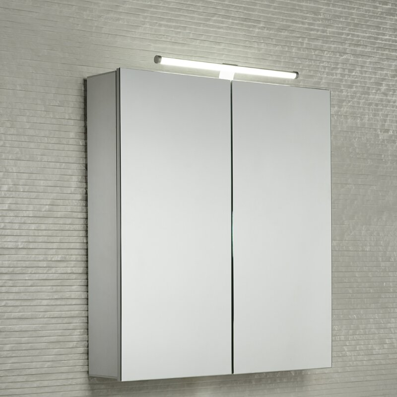 Conduct 60cm X 69cm Surface Mount Mirror Cabinet