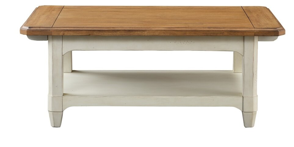 Millbrook Rectangular Coffee Table With Magazine Rack