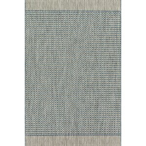Bundy Gray/Blue Indoor/Outdoor Area Rug