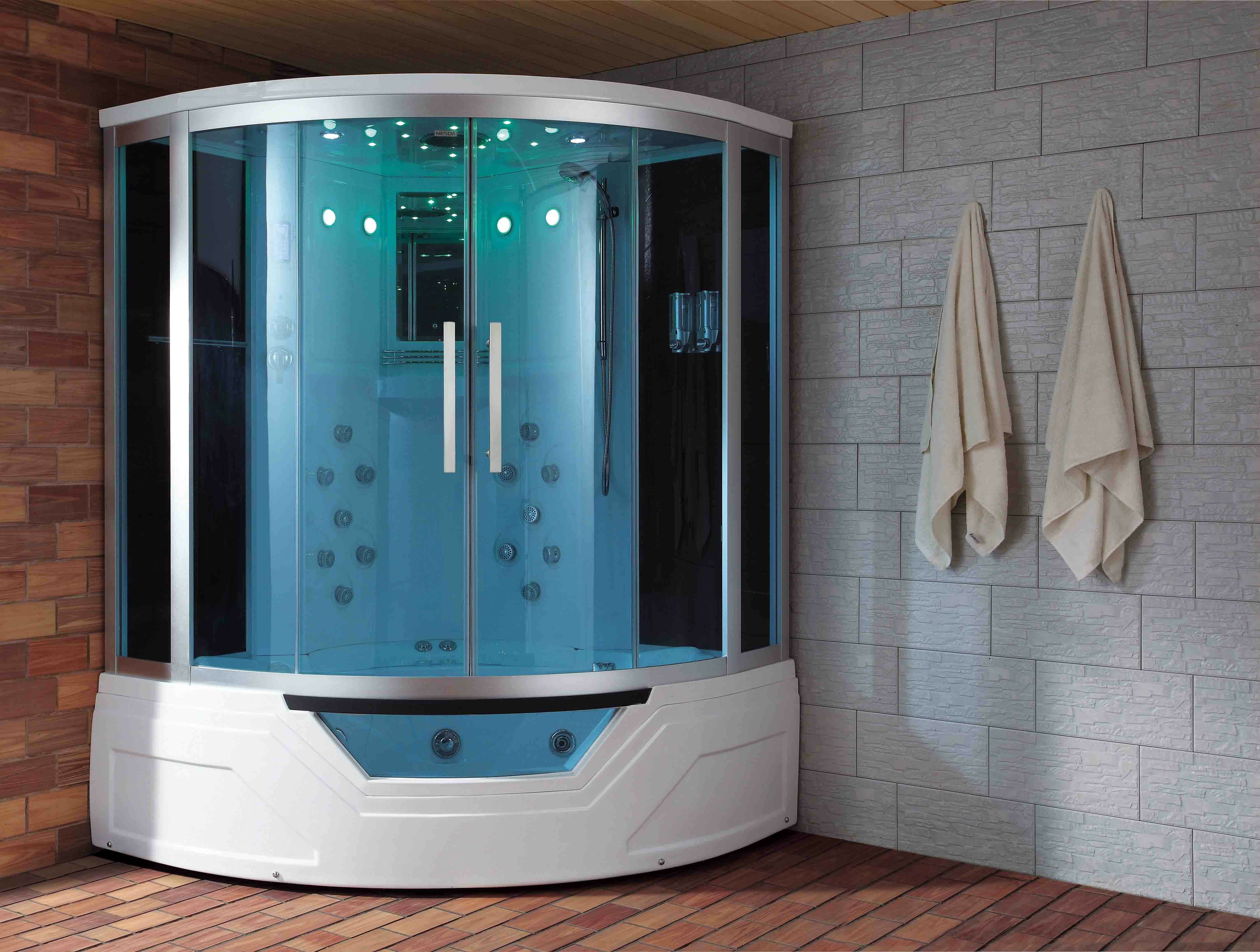 Eagle Bath Sliding Door Steam Shower Enclosure Unit | Wayfair