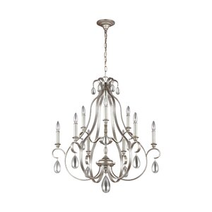 Roberts 9-Light Candle-Style Chandelier