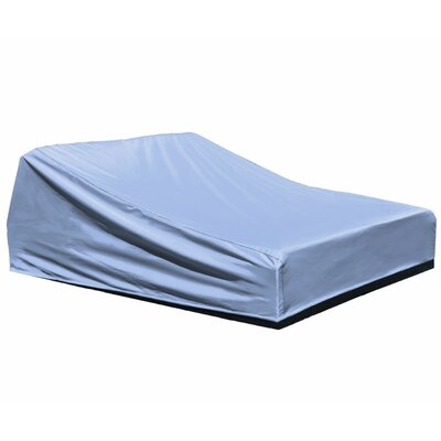 Freeport Park Aadhya Outdoor Chaise Lounge Cover Size: 32 H x 64 W x 80 D, Color: Blue, Material: Polypropylene