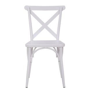 Parikh Cross Back Dining Chair (Set of 2)