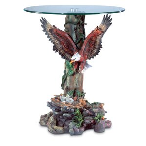 Flying Eagle End Table by Zingz & Thingz
