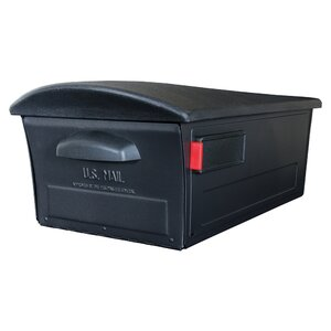 Locking Post Mounted Mailbox