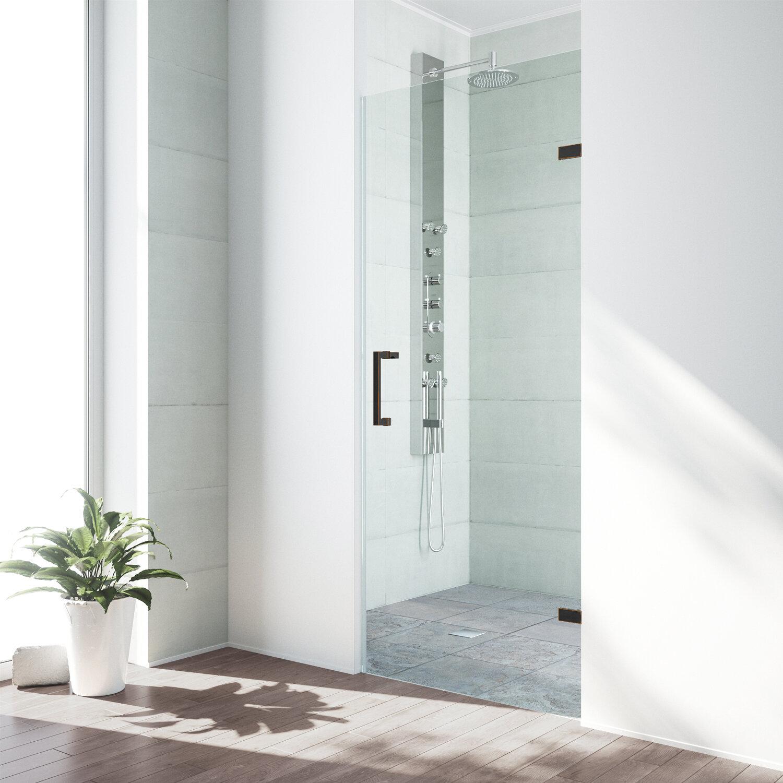 Vigo Soho 2825 X 7025 Hinged Frameless Shower Door Reviews